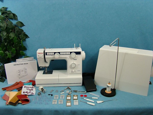 Necchi HD22 Industrial Strength Heavy Duty Free Arm Sewing Machine + $150.00 WORTH OF EXTRA ACCESSORIES