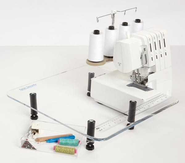 "Serger/Small Table 18"" x 18"""