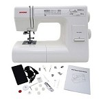 HEAVY DUTY INDUSTRIAL STRENGTH JANOME HD3000 SEWING MACHINE & ACCESSORIES SEWS LEATHER, UPHOLSTERY, DENIM, ETC.!
